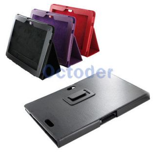 PU Leather Case Stand Cover Shell for Asus Transformer Pad TF700