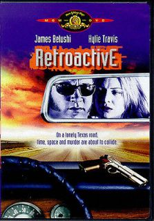 RETROACTIVE RARE DVD James Belushi Shannon Whirry Kylie Travis Time