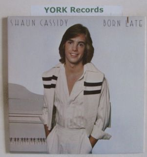 SHAUN CASSIDY   Born Late   Excellent Con LP Record