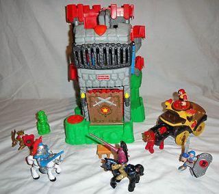 Fisher Price Imaginext Adventures Castle, Battle Coach, Jousting