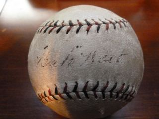 BABE RUTH AUTOGRAPHED BASEBALL JSA SWEETSPOT SINGLE OFFICIAL