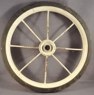 Wheel Semi Pheumatic Tire for Vintage Trike Tricycle Baby Carriage NOS