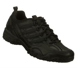 SKECHERS SHOES 76492 WOMEN NEW WORK NURSE UNIFORM COMFORT BLACK SLIP