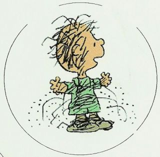 Peanuts   Pig Pen   Sticker   2.75 *NEW*
