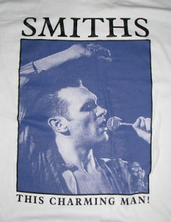 The Smiths MORRISSEY T shirt This Charming Man the Cure