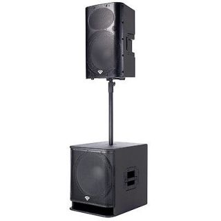 Cerwin Vega P1500X Active 2 way Powered Loudspeakers P1800SX Active