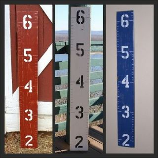 Wooden Growth Chart For Children