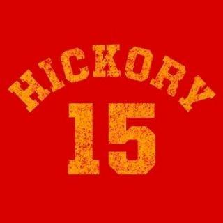 Hickory HOOSIERS Indiana BASKETBALL Larry Bird Bob Knight T Shirt
