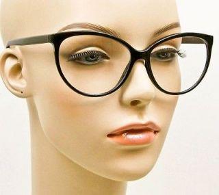 Large Framed Cat Eye Reading Glasses : Soho 85 Eyeglasses Frame Modern Large Grey Marble Tone