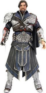 Assassins Creed Brotherhood   Ezio 7 Onyx Costume Unhooded