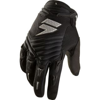 RACING MENS ADULT BMX MX ATV RIDING BLACK STRIKE GLOVES CHAD REED