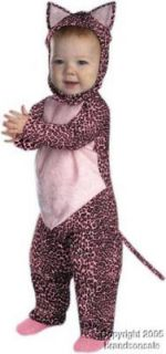 Toddler Pink Leopard Cat Halloween Costume 3 to12 Months Baby Smoke