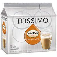 Tassimo T Discs  Twinings Chai Latte Tea and Twinings Earl Grey Tea