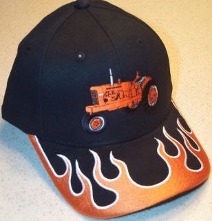 Allis Chalmers WD 45 Flaming Bill Embroidered Solid Hat (4 types)