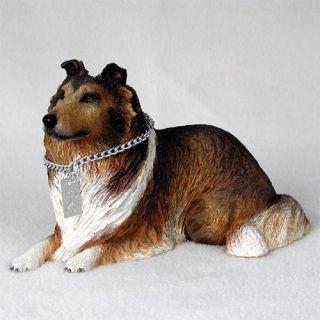 Collie Statue Figurine. Home Decor Yard & Garden Dog Products & Dog