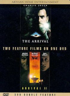 Arrival, The/The Arrival 2 (DVD, 1999) Patrick Muldoon, Charlie Sheen