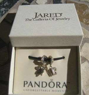 NEW AUTHENTIC PANDORA STERLING SILVER BEST FRIENDS FOREVER CHARM BEAD