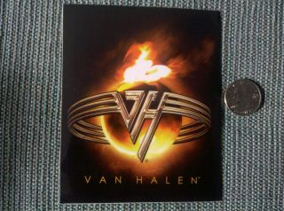 VAN HALEN (YOU REALLY GOT ME) Sticker