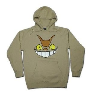 Cheshire Cat Bus Totoro Parody Hoodie (X Large)