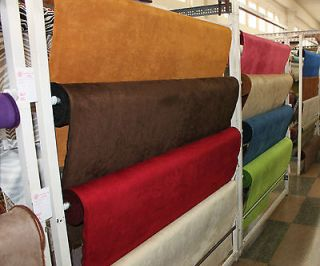Microfiber Suede   Upholstery Fabric