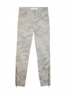 BRAND + CHRISTOPHER KANE Camo SKINNY Denim PANTS Limited EDITION