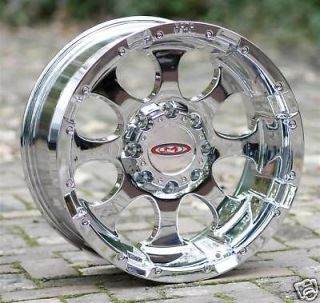 chrome Wheels Moto Metal 955 Chevy HD Gmc Dodge 2500 3500 8 lug trucks