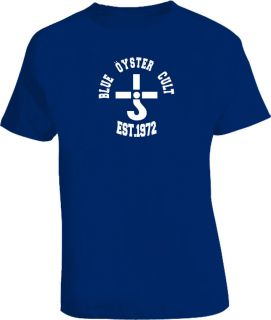 blue oyster cult t shirts