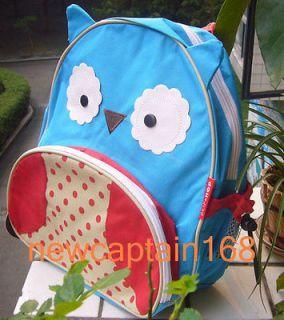 NWT BABY TODDLER CHILDREN SCHOOLBAG BACKPACK CUDDY BLUE OWL 13