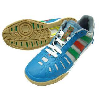 Adidas Top Sala Boys Football Trainers Blue Size 4