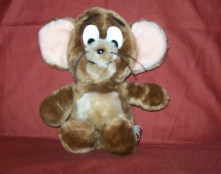 11 mouse tom and jerry animal fair 1982 plush stuffed eden valley