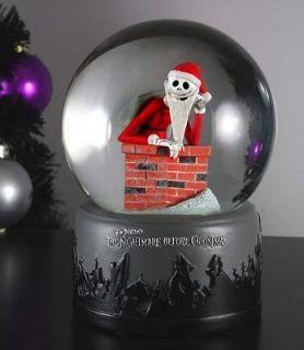 NECA Nightmare Before Christmas CHIMNEY SANTA JACK Snow globe