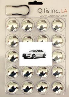 99 9712 C A8 CHROME lug bolt covers for AUDI A8 wheels FREE SHIPPING