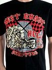 WEST COAST CHOPPERS T SHIRT VINTAGE CUSTOM MOTORCYCLES BIKER WORLD