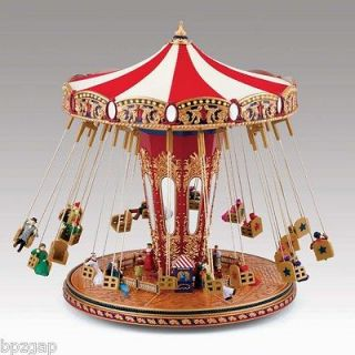 Gold Label Mr Christmas Worlds Fair Swing Carousel #79841