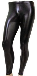 80s Heavy Metal GLAM Rock Spandex Stretch Pants BLACK