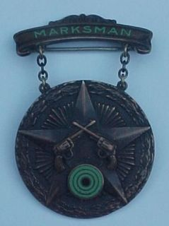 East Chicago Police Named Markman Medal 1940s