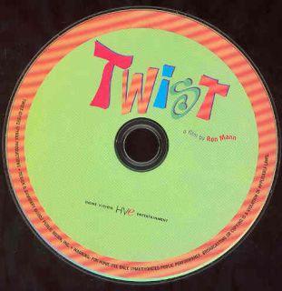 Twist DVD Documentary Movie Chubby Checker Frankie Avalon Ron Mann NO