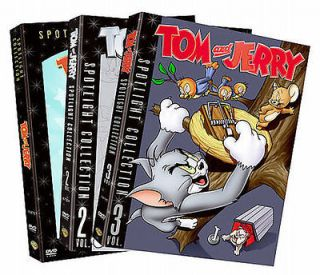 TOM AND JERRY SPOTLIGHT COLLECTION: VOL. 1 3   NEW DVD BOXSET