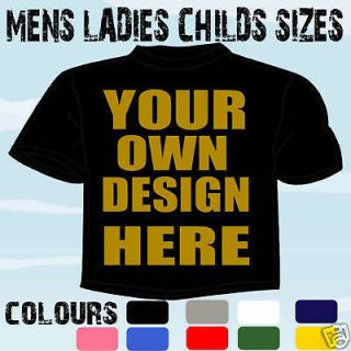 CUBS SCOUTS CLUB GROUP PERSONALISED T SHIRT OWN DESIGN