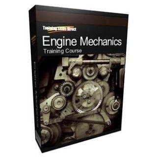 Learn Engine Mechanics Auto Car Diesel Petrol Training Course Manual