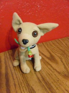 Taco Bell Chihuahua No Talking Plush Dog Advertising i think Im in