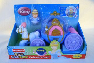 fisher price little people cinderella carriage