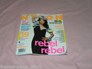Nylon Magazine July 2010 Music Issue Hayley Williams, M.I.A., Best