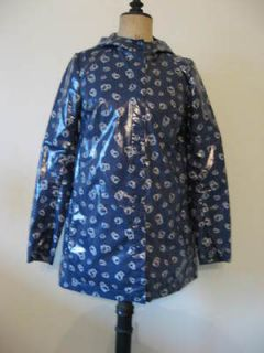 Hello Kitty Patent Rain Coat Cire Imper Vinyl PVC Shiny RainMac 36