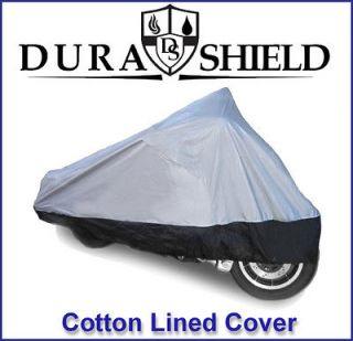 Kawasaki Medium Motorcycle Cover + Cotton Lined 2C