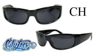 City Locs 436 Cali Bear Chopper Gangster OG Tattoo Lowrider Sunglasses