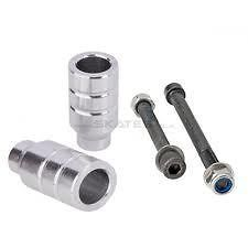 GRIT SCOOTER PEGS   Axles Included   PRO SCOOTER PEGS   SILVER
