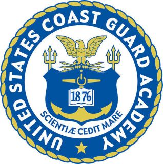 STICKER USCG COAST GUARD ACADEMY