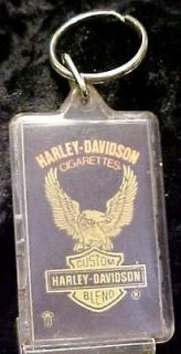 Harley Davidson Cigarettes Key Chain 3 3/8 x 1 3/8  11598