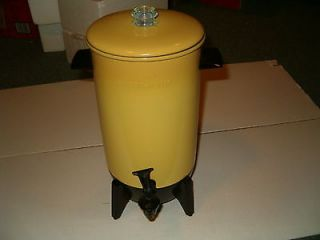 Vintage Mirro Matic 22 Cup Electric Percolator Coffee Pot,